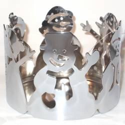 Yankee Candle Snowmen Jar Sleeve mittel