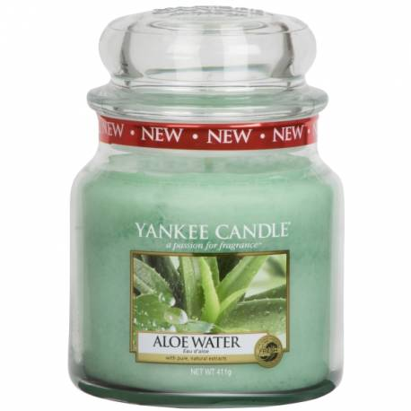 Yankee Candle Jar Glaskerze mittel 411g Aloe Water