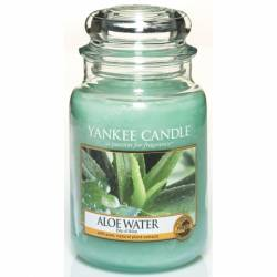 Yankee Candle Jar Glaskerze groß 623g Aloe Water