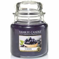 Yankee Candle Jar Glaskerze mittel 411g Cassis