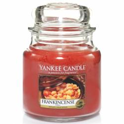 Yankee Candle Jar Glaskerze mittel 411g Frankincense