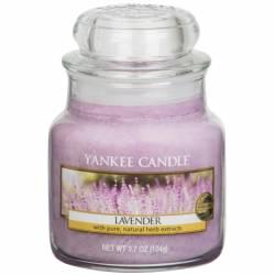 Yankee Candle Jar Glaskerze klein 104g Lavender