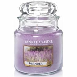 Yankee Candle Jar Glaskerze mittel 411g Lavender