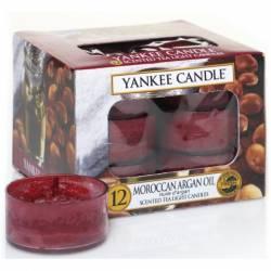 Yankee Candle Teelichter 12er Pack Moroccan Argan Oil