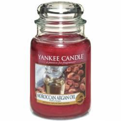Yankee Candle Jar Glaskerze groß 623g Moroccan Argan Oil