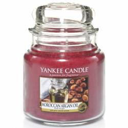 Yankee Candle Jar Glaskerze mittel 411g Moroccan Argan Oil