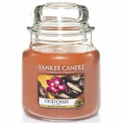 Yankee Candle Jar Glaskerze mittel 411g Oud Oasis