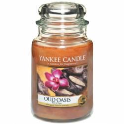 Yankee Candle Jar Glaskerze groß 623g Oud Oasis