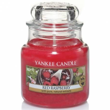 Yankee Candle Jar Glaskerze klein 104g Red Raspberry