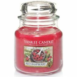 Yankee Candle Jar Glaskerze mittel 411g Red Raspberry