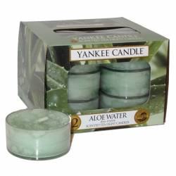 Yankee Candle Teelichter 12er Pack Aloe Water