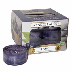 Yankee Candle Teelichter 12er Pack Cassis