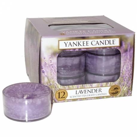 Yankee Candle Teelichter 12er Pack Lavender