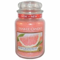 Yankee Candle Jar Glaskerze groß 623g Pink Grapefruit
