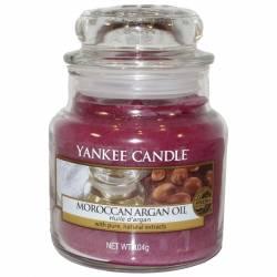 Yankee Candle Jar Glaskerze klein 104g Moroccan Argan Oil
