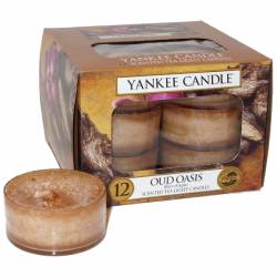 Yankee Candle Teelichter 12er Pack Oud Oasis
