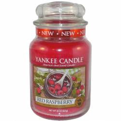 Yankee Candle Jar Glaskerze groß 623g Red Raspberry
