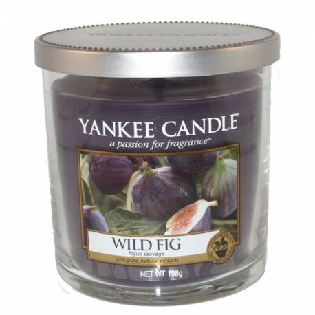 Yankee Candle 1 Docht Regular Tumbler Glaskerze klein 198g Wild Fig