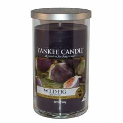 Yankee Candle Pillar Glaskerze mittel 340g Wild Fig