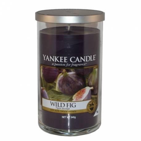 Yankee Candle Pillar Glaskerze mittel 340g Wild Fig