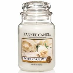 Yankee Candle Jar Glaskerze groß 623g Wedding Day