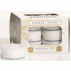 Yankee Candle Teelichter 12er Pack Wedding Day