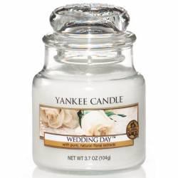 Yankee Candle Jar Glaskerze klein 104g Wedding Day