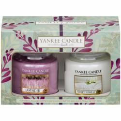 Yankee Candle Geschenk-Set Pure Essence  2x Jar mittel 411g