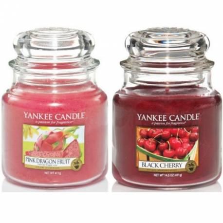Yankee Candle Geschenk-Set Fruit-a-licious 2x Jar mittel 411g