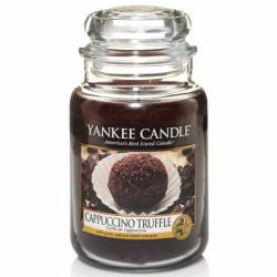 Yankee Candle Jar Glaskerze groß 623g Cappuccino Truffle