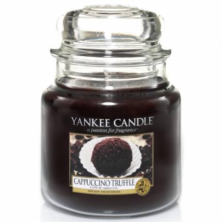Yankee Candle Jar Glaskerze mittel 411g Cappuccino Truffle