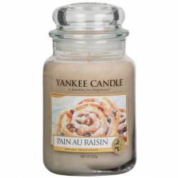Yankee Candle Jar Glaskerze groß 623g Pain au Raisin
