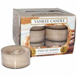 Yankee Candle Teelichter 12er Pack Pain au Raisin