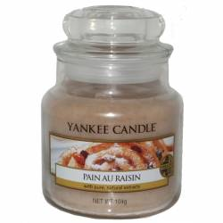 Yankee Candle Jar Glaskerze klein 104g Pain au Raisin