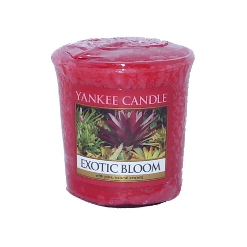 yankee candle sampler votivkerze exotic bloom. Black Bedroom Furniture Sets. Home Design Ideas