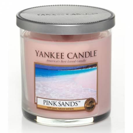 Yankee Candle 1 Docht Regular Tumbler Glaskerze klein 198g Pink Sands