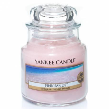 Yankee Candle Jar Glaskerze klein 104g Pink Sands