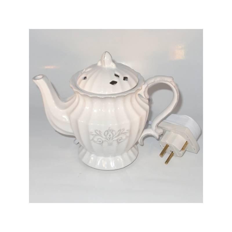yankee candle duftlampe elektrisch teekanne teapot. Black Bedroom Furniture Sets. Home Design Ideas