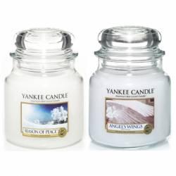 Yankee Candle Spar-Set M4 Winterzeit 2x Jar mittel 411g