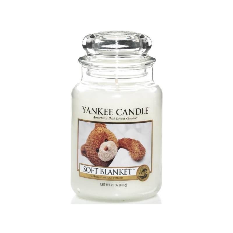yankee candle housewarmer jar glaskerze gro 623g soft blanket. Black Bedroom Furniture Sets. Home Design Ideas