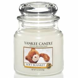Yankee Candle Jar Glaskerze mittel 411g Soft Blanket