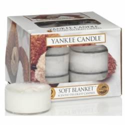 Yankee Candle Teelichter 12er Pack Soft Blanket