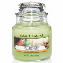 Yankee Candle Jar Glaskerze klein 104g A Childs Wish