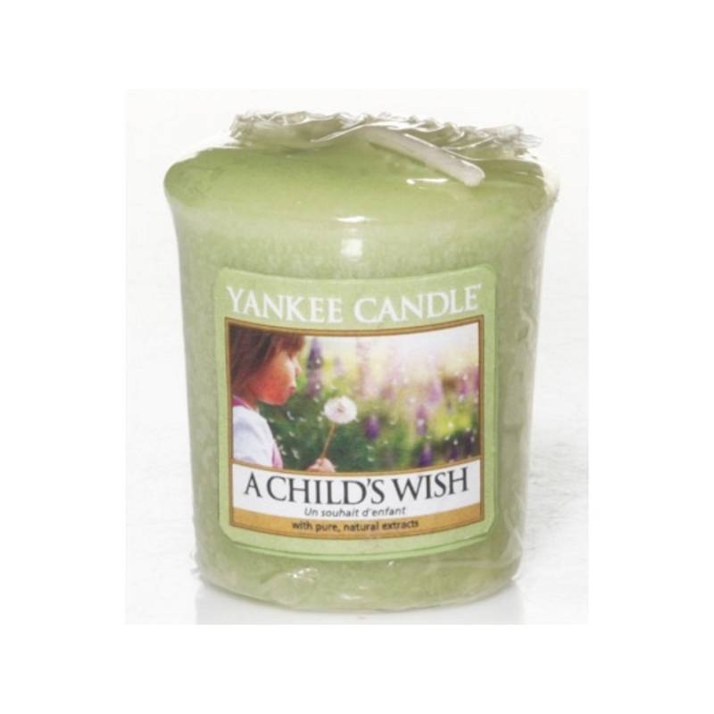 yankee candle sampler votivkerze a childs wish. Black Bedroom Furniture Sets. Home Design Ideas
