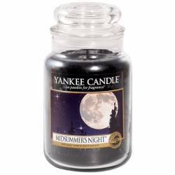 Yankee Candle Jar Glaskerze groß 623g Midsummers Night