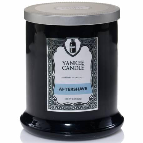 Yankee Candle Tumbler Barber-Shop Glaskerze 226g Aftershave