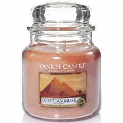 Yankee Candle Jar Glaskerze mittel 411g Egyptian Musk