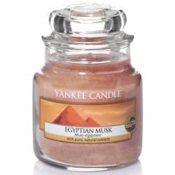 Yankee Candle Jar Glaskerze klein 104g Egyptian Musk