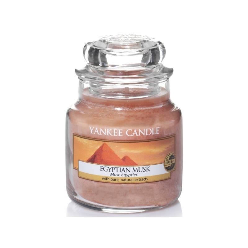 yankee candle housewarmer classic jar glaskerze klein 104g egyptian musk. Black Bedroom Furniture Sets. Home Design Ideas