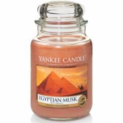 Yankee Candle Jar Glaskerze groß 623g Egyptian Musk